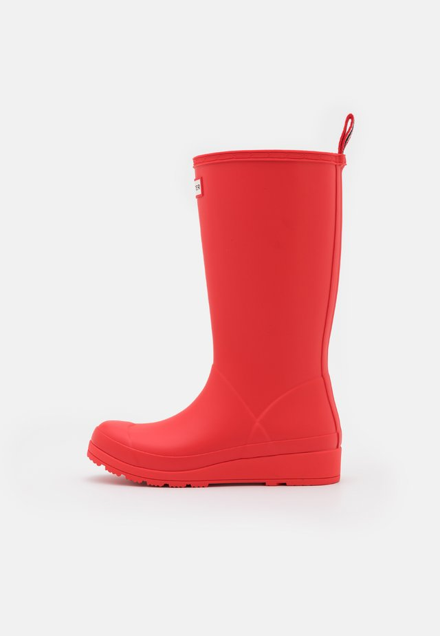 PLAY BOOT TALL VEGAN  - Wellies - red