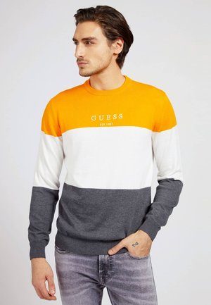 Sweatshirt - orange mehrfarbig