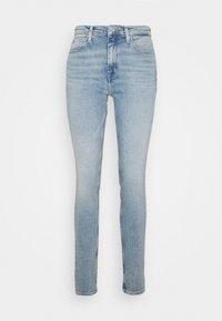 Calvin Klein Jeans - HIGH RISE SKINNY - Jeans Skinny - light blue - 4