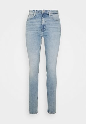 HIGH RISE SKINNY - Skinny džíny - light blue