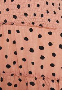 LOVE2WAIT - MINI SKIRT RUFFLES - Mini skirt - dusty rose - 2
