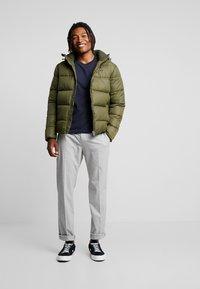 Calvin Klein Jeans - MONOGRAM PADDED JACKET - Winter jacket - grape leaf - 1
