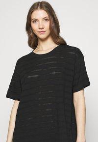 Dedicated - DRESS ALTA - Žerzejové šaty - black - 3