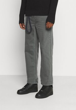PANTS - Jeans Relaxed Fit - iron gate