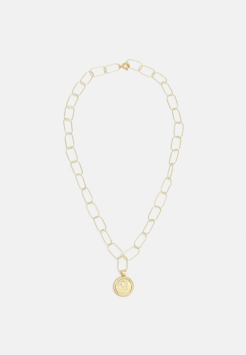 Hermina Athens - HERCULES STATEMENT NECKLACE - Necklace - gold-coloured