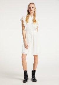 myMo ROCKS - Shirt dress - weiss - 1