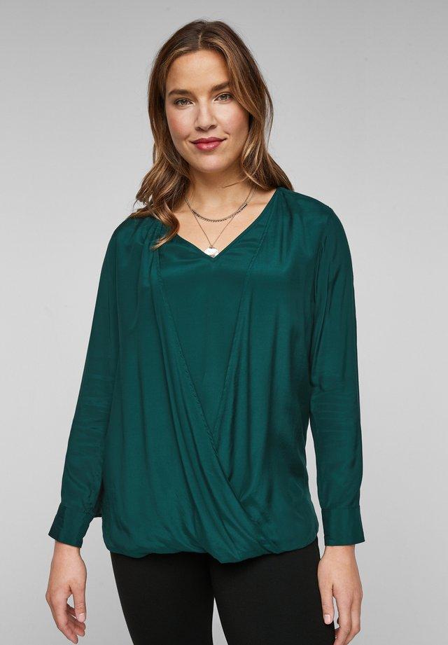 Blouse - smaragd