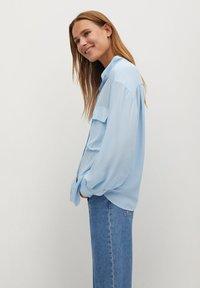 Mango - LIARA - Button-down blouse - bleu - 3