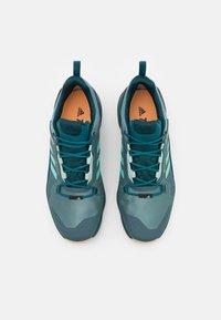 adidas Performance - TERREX SWIFT R3 GORE-TEX MID - Hiking shoes - hazy emerald/acid mint/wild teal - 3