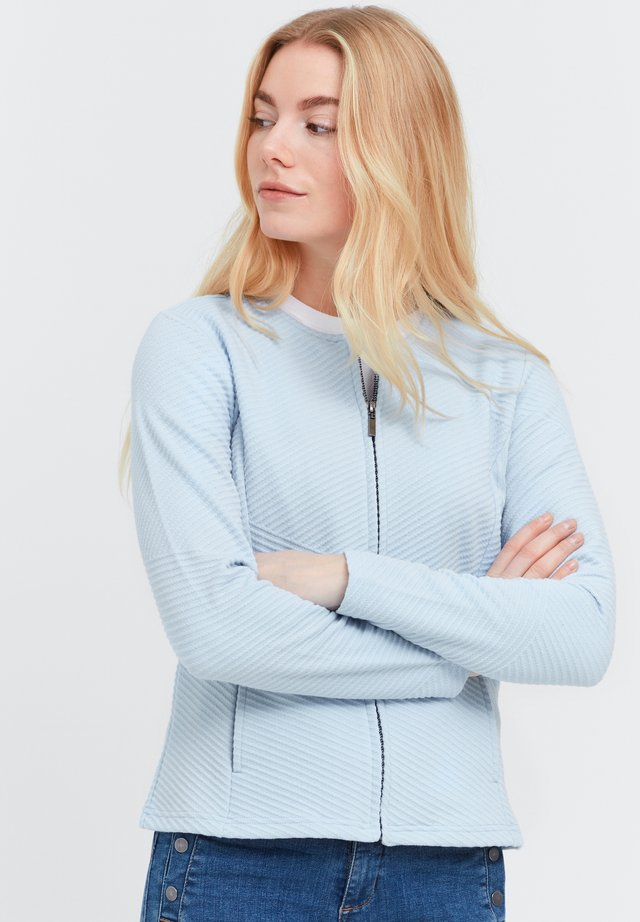 FRVECARDI - Vest - cashmere blue