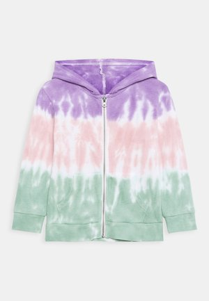 ABBY ZIP THROUGH JACKET - Felpa aperta - rainbow