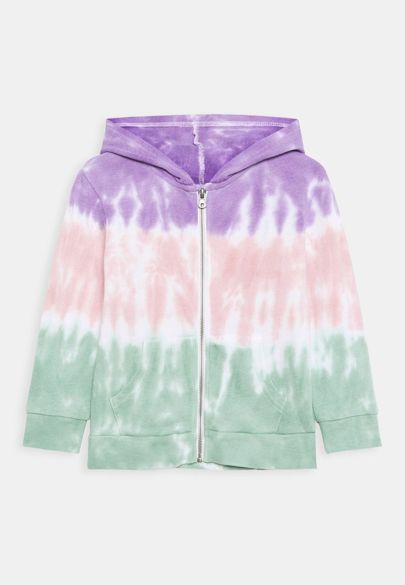 Cotton On - ABBY ZIP THROUGH JACKET - Zip-up hoodie - rainbow