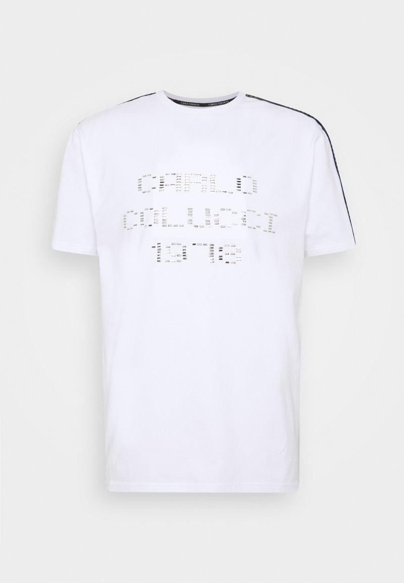 Carlo Colucci - Print T-shirt - weiss