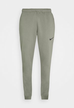 PANT TAPER - Tracksuit bottoms - light army/black