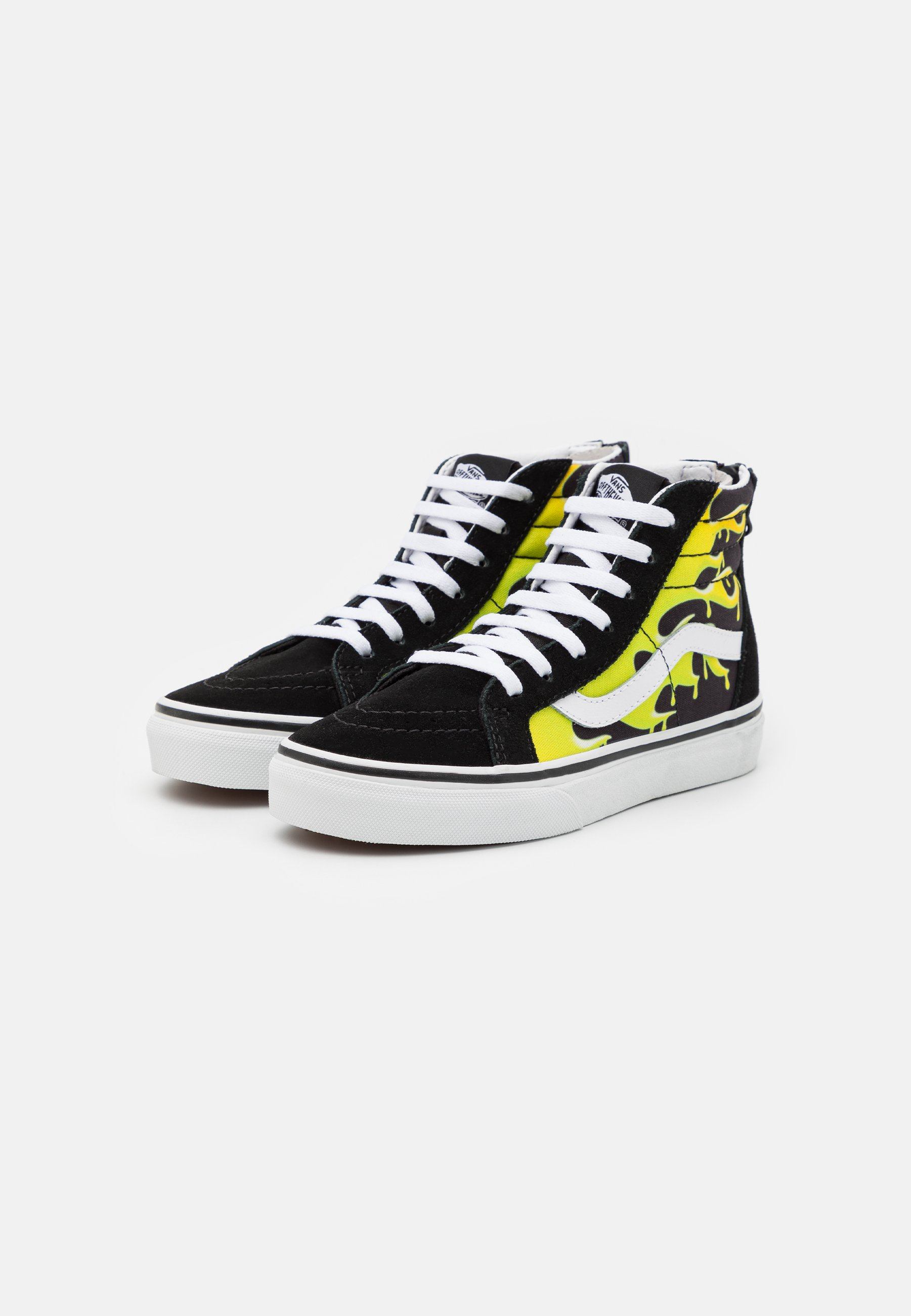 SK8 ZIP - Sneakers alte - black/true white