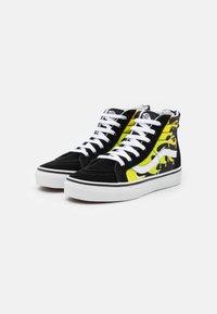 Vans - SK8 ZIP - High-top trainers - black/true white - 1