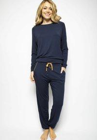 Cyberjammies - Pyjama bottoms - navy - 1