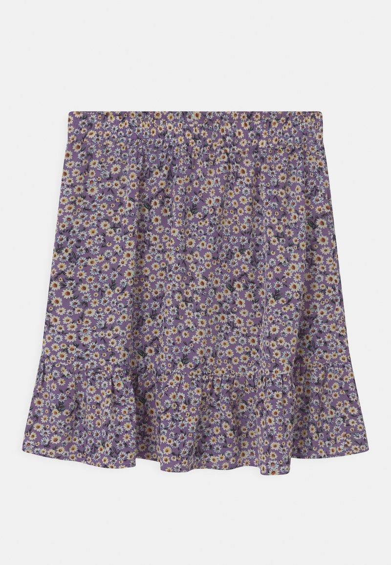 Grunt - Áčková sukně - purple