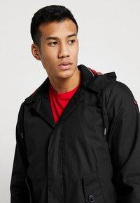HARRINGTON - MICK HOODED - Summer jacket - black - 3