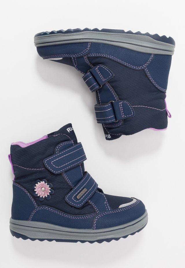 Winter boots - atlantic/lila