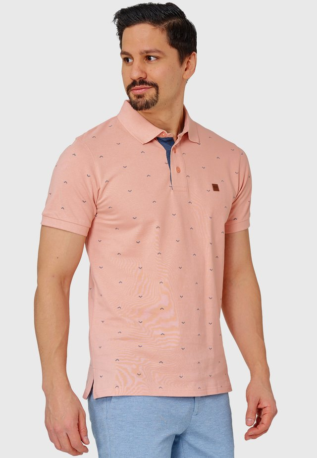 AYERS - Polo - coral cloud