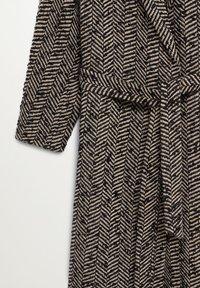 Mango - FOX - Classic coat - schwarz - 8