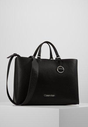 SIDED TOTE - Handbag - black