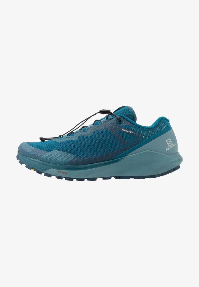 SENSE RIDE 3 - Zapatillas de trail running - lyons blue/smoke blue/lemon zest
