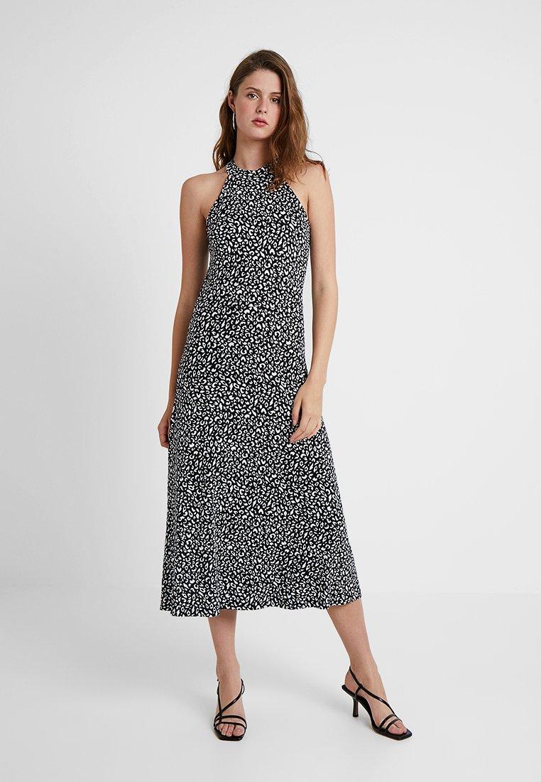 KIOMI TALL - Maxi dress - white/black