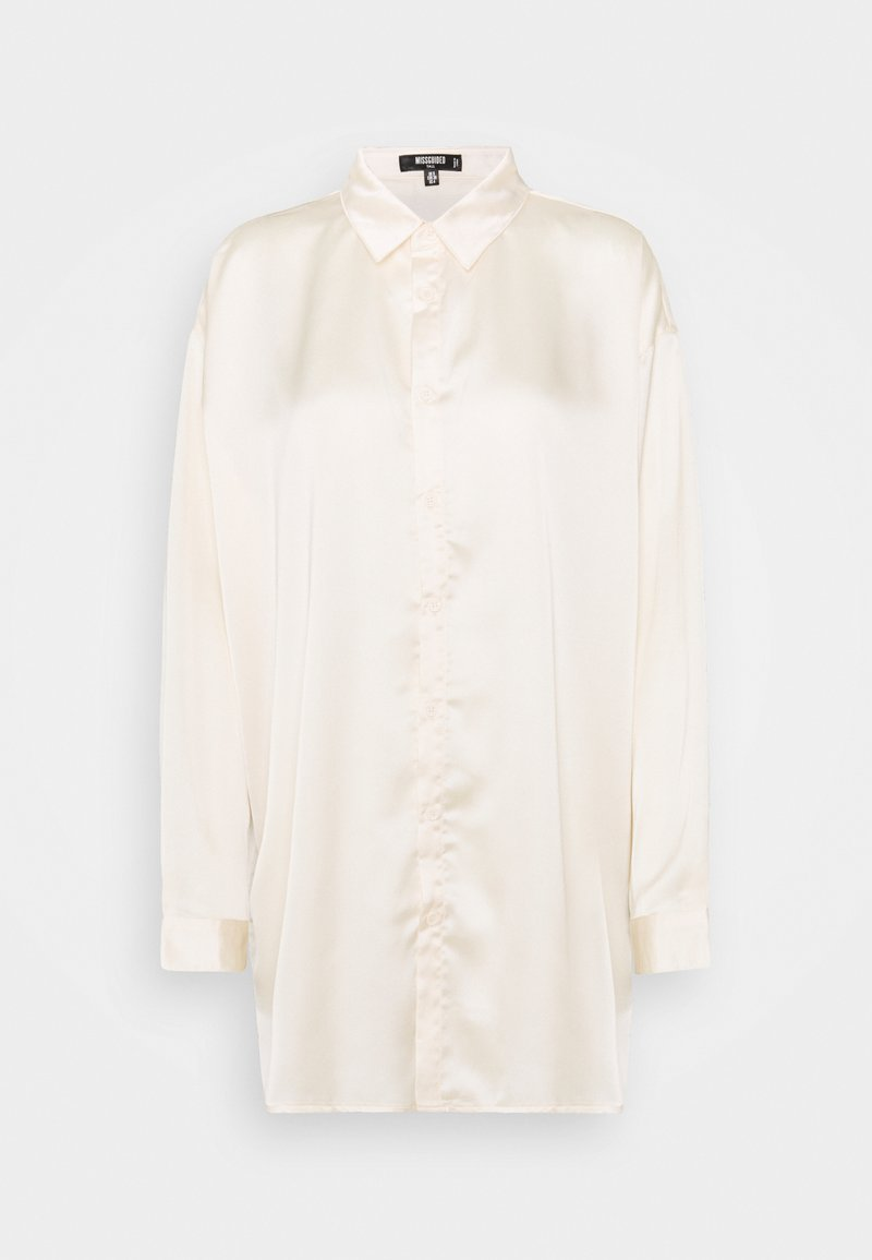 Missguided Tall - SHIRT - Button-down blouse - nude