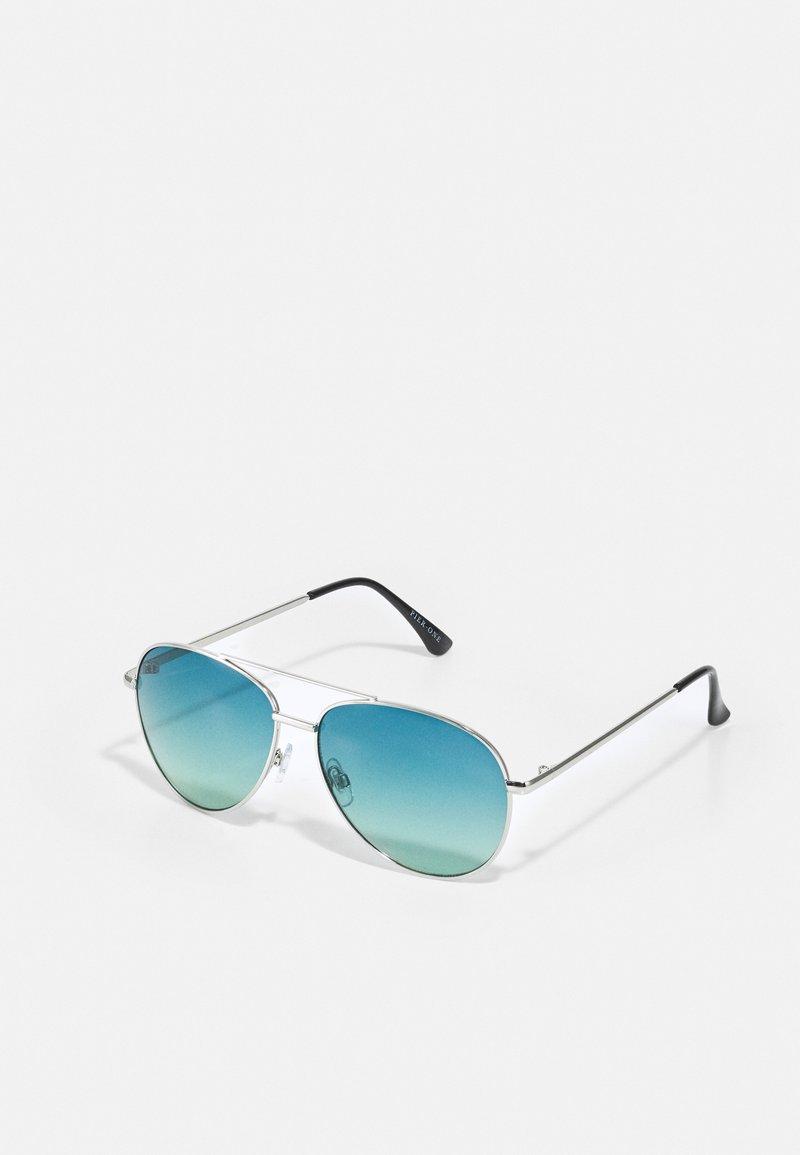Pier One - UNISEX - Sunglasses - blue