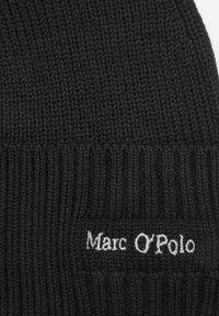Marc O'Polo - STRICK-MÜTZE MIT KASCHMIR-ANTEIL - Beanie - black - 1