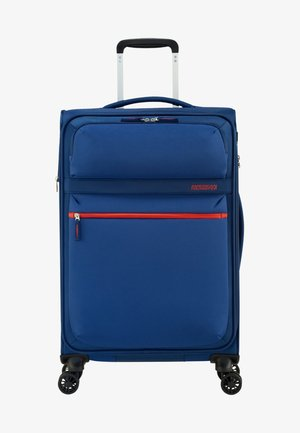 MATCHUP - Wheeled suitcase - neon blue