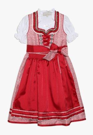 DIRNDL - Folkedans nationaldragt Tyrol - rot