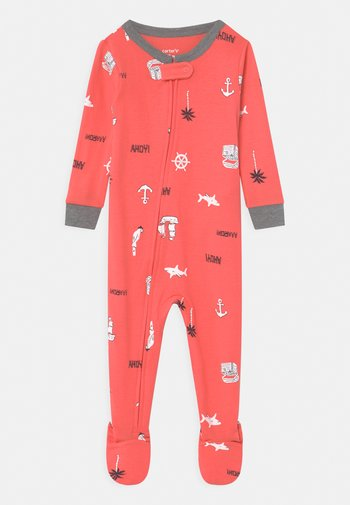 ANCHOR - Sleep suit - red
