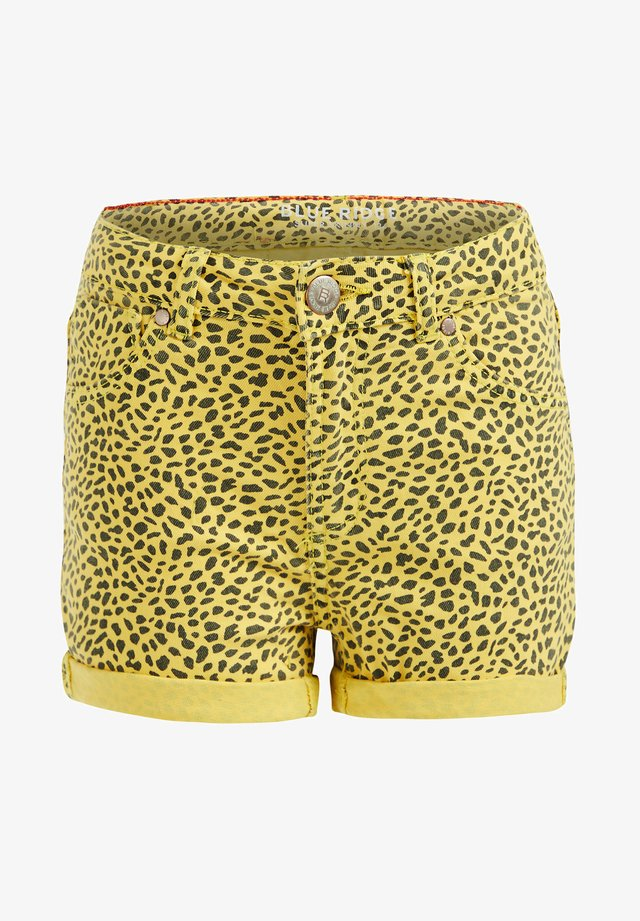 DIERENDESSIN - Shorts di jeans - yellow