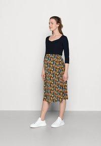 MAMALICIOUS - MLSIGA SKIRT - A-line skirt - twilight blue - 1