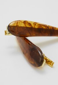 Topshop - AMBER SLIDE 2 PACK - Hair styling accessory - brown - 4