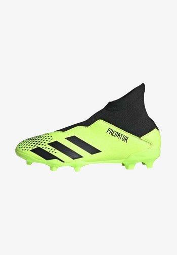 PREDATOR  FOOTBALL BOOTS FIRM GROUND UNISEX - Kopačky lisovky - siggnr/cblack/cblack
