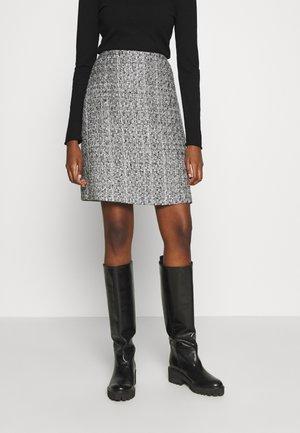 SKIRT - Pouzdrová sukně -  grey