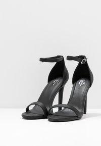 4th & Reckless - JASMINE - Korolliset sandaalit - black - 4
