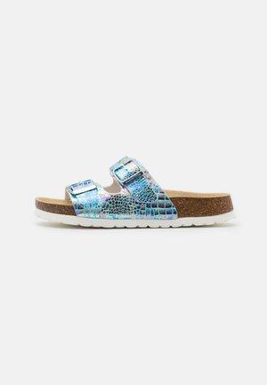 FUSSBETTPANTOFFEL - Pantofole - blau