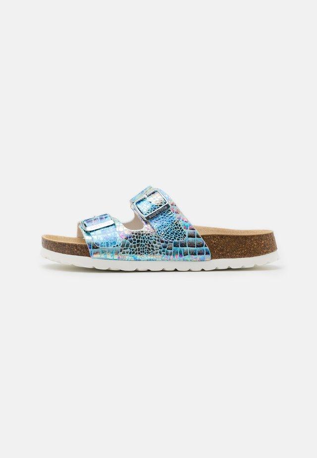 FUSSBETTPANTOFFEL - Domácí obuv - blau