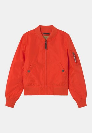 Bomber Jacket - atomic red