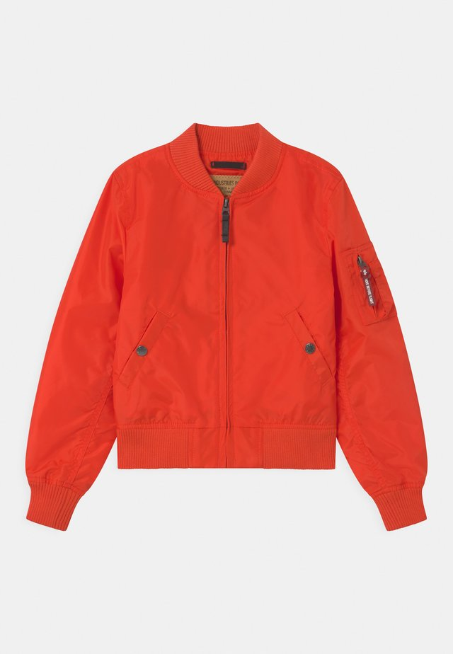 Bomber bunda - atomic red
