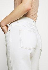 Custommade - YUKI PANTS - Straight leg jeans - whisper white - 4
