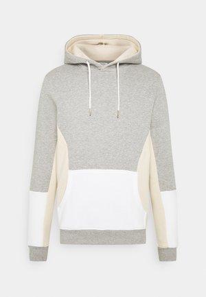 RREMILIO  - Hoodie - light grey melange