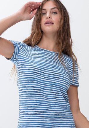 Pyjama top - pacific blue