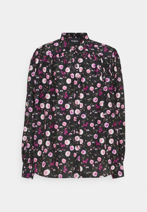 Blouse - black/pink