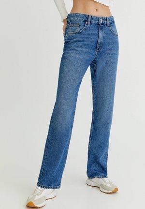 Džíny Straight Fit - royal blue